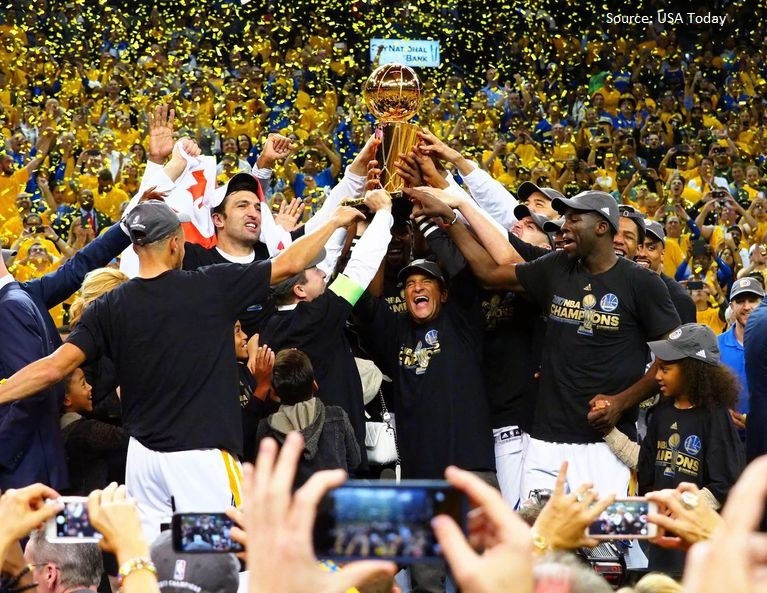 Golden State Warriors Win the NBA Championship